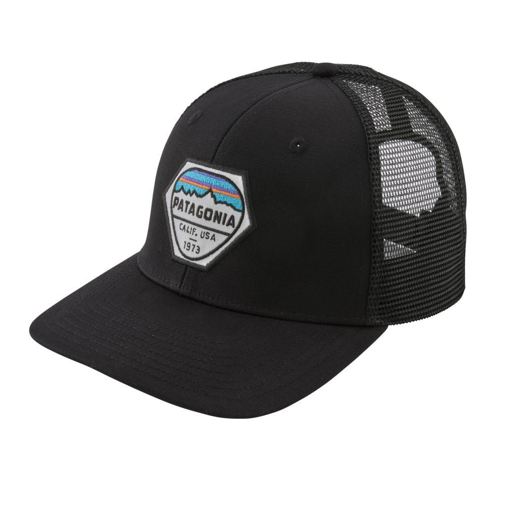 Patagonia Fitz Roy Hex Trucker Hat BLK