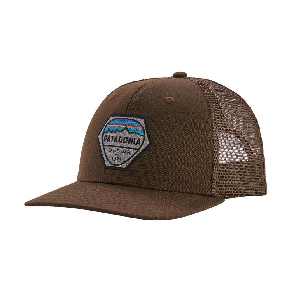 Patagonia Fitz Roy Hex Trucker Hat BTBR