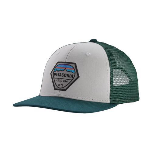 Patagonia Fitz Roy Hex Trucker Hat Whpg