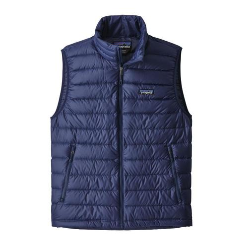 Patagonia Men's Down Sweater Vest Navy_cacl