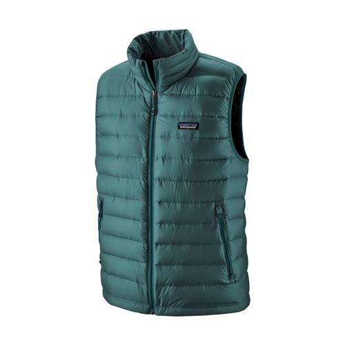 Patagonia Men's Down Sweater Vest Teal_tate