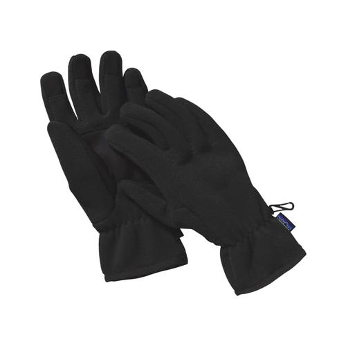 Patagonia Synchilla Fleece Gloves Blk