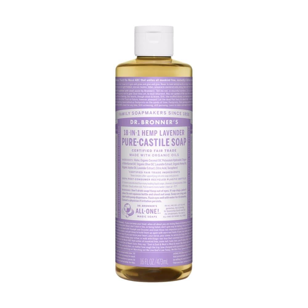 Dr. Bronner's Pure-Castile Liquid Soap Lavender 16oz LAVENDAR