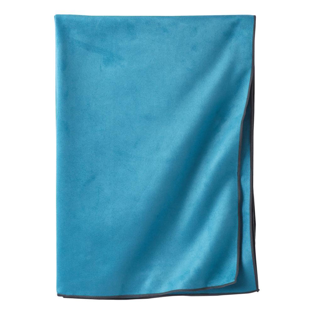 prAna Maha Yoga Towel RIVER_ROCK_BLUE