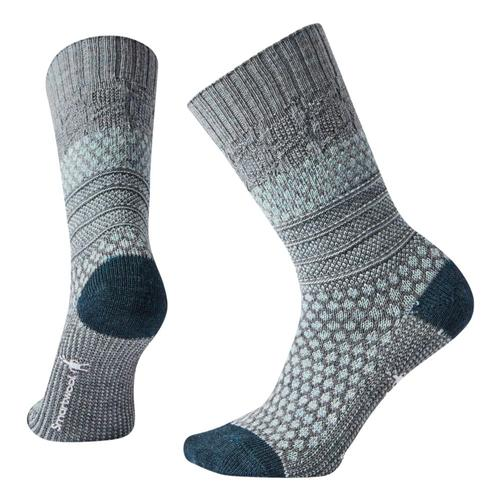 Smartwool Women's Popcorn Cable Socks Lugray_e47