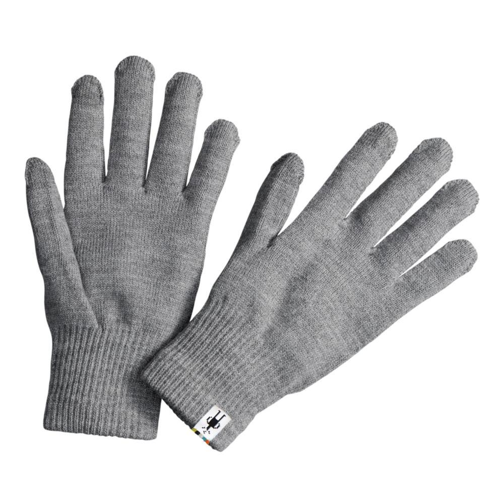 Smartwool Unisex Liner Gloves 040_SIL.GRY.HTR