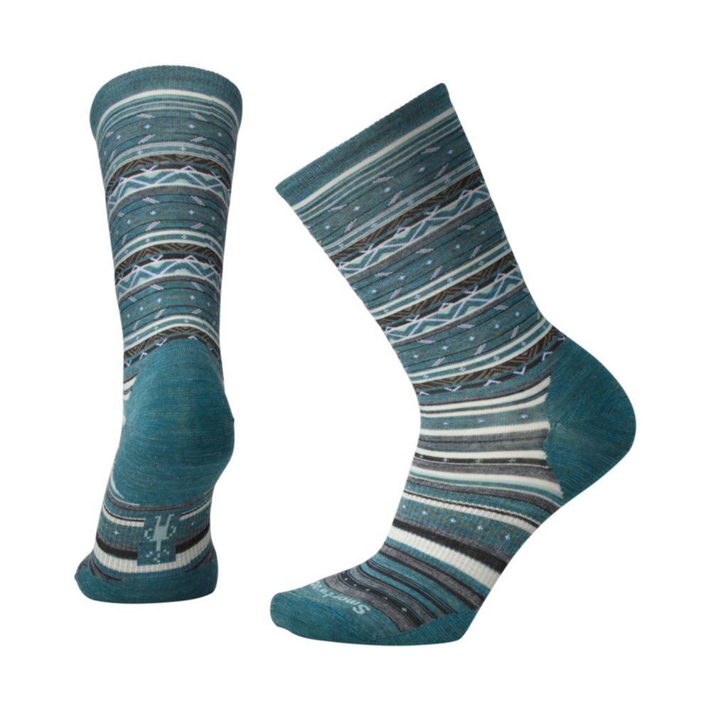 Smartwool Women's Ethno Graphic Crew Socks MDGREEN_A60