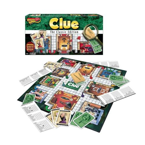 Clue Classic Edition Board Game