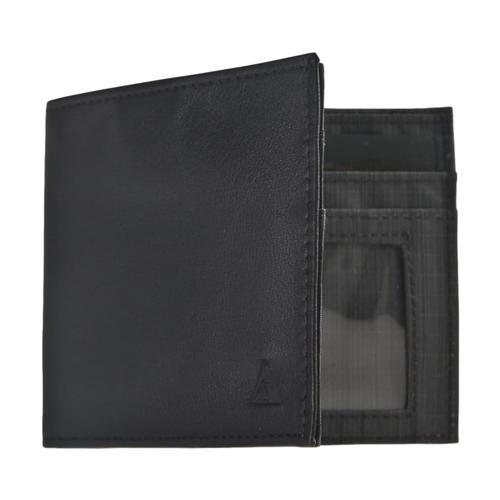 Allet Inside ID Wallet - Leather Black