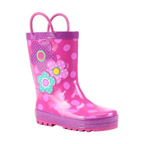 Western Chief Kids Flower Cutie Rain Boots Pink