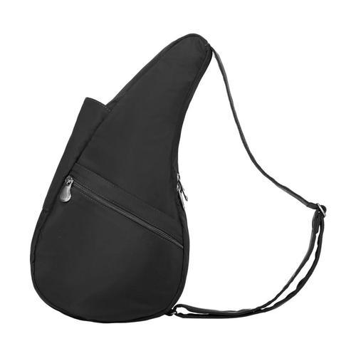 AmeriBag Healthy Back Bag Microfiber Shoulder Bag - Small Black