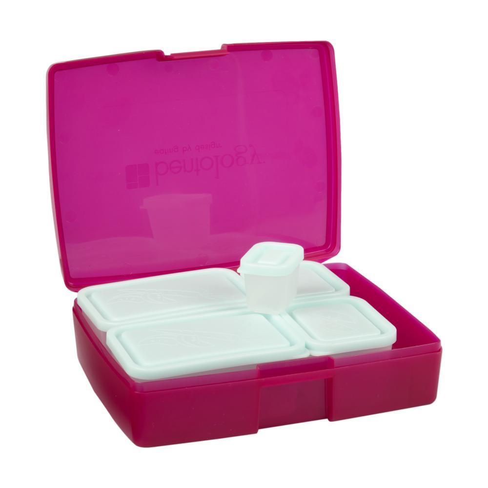 Bentology Classic 6 Piece Lunch Box Set RASPBRRY