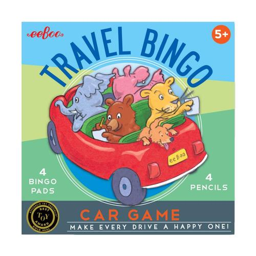 eeBoo Travel Bingo