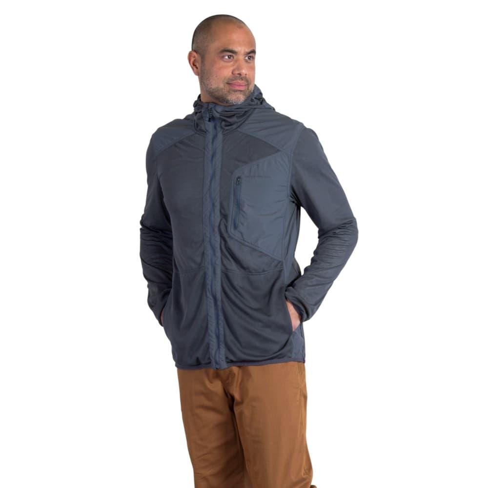 ExOfficio Men's BugsAway Sandfly Jacket DKPEBBLE