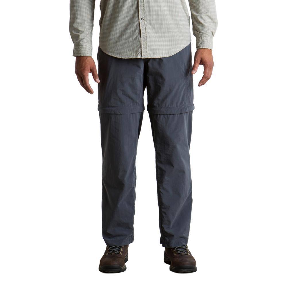 ExOfficio Men's Sol Cool Ampario Convertible Pant - 32in Inseam CARBON