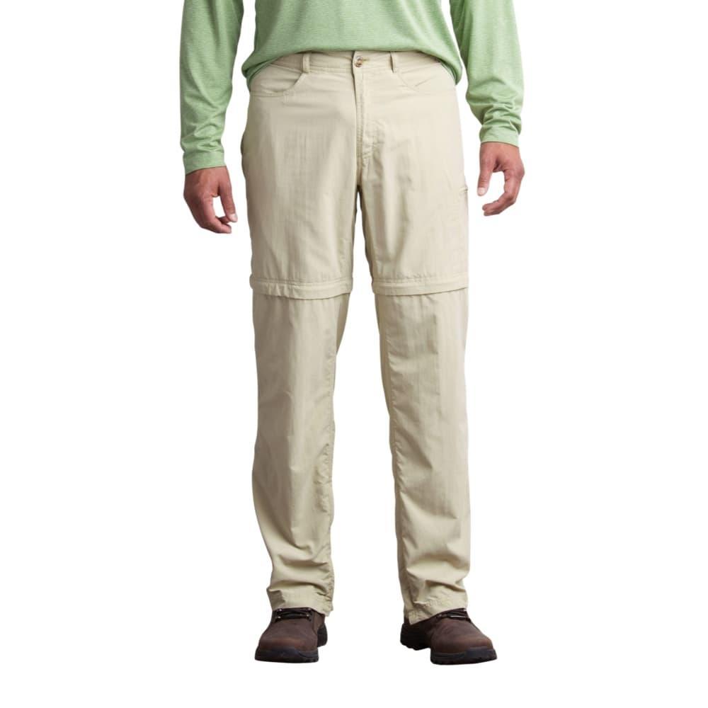 ExOfficio Men's Sol Cool Ampario Convertible Pant - 32in Inseam LTKHAKI