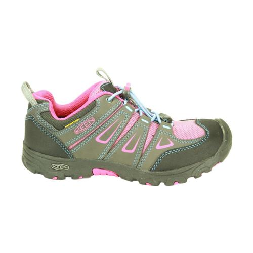 KEEN Big Kids Oakridge Waterproof Shoes Magn_berry