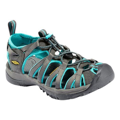 KEEN Women's Whisper Sandals Drkshd/Crmc