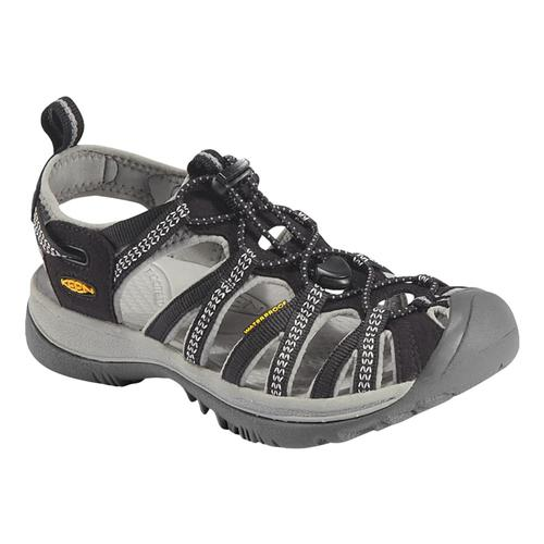 KEEN Women's Whisper Sandals Blk/Gry