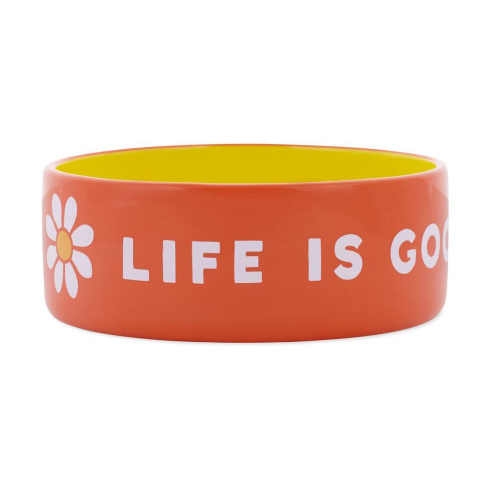 Life Is Good 38oz Ceramic Daisy Dog Bowl - Large TRP_ORG