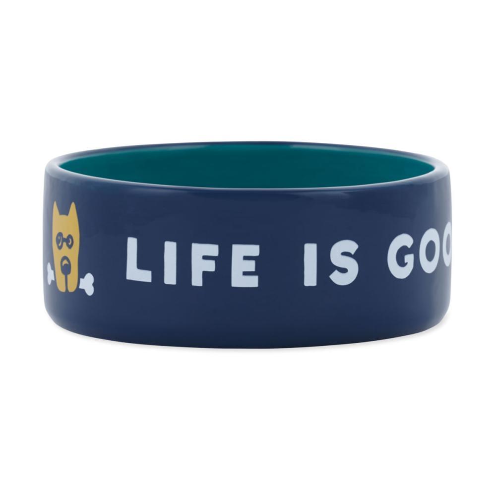 Life is Good 38oz Ceramic Rocket Dog Bowl DST_BLU