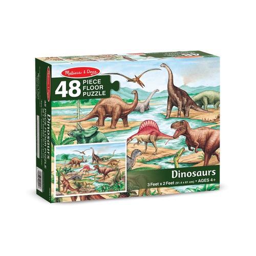 Melissa & Doug Dinosaurs Floor Jigsaw Puzzle - 48 Pieces