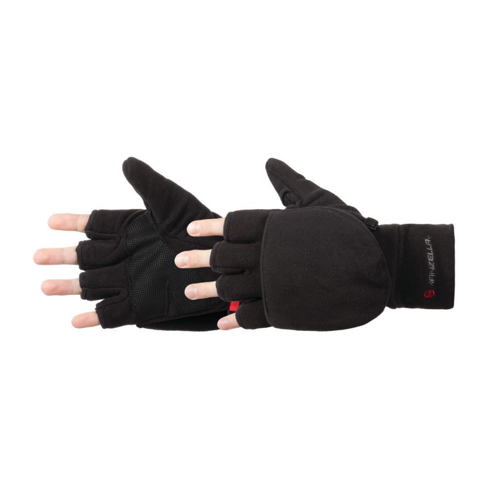 Manzella Men's Cascade Convertible Gloves BLACK