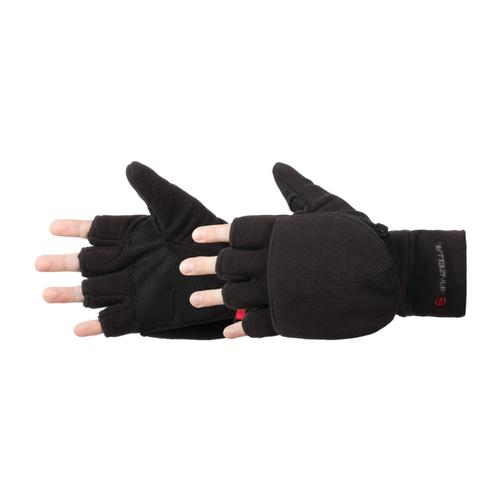 Manzella Men's Cascade Convertible Gloves Black