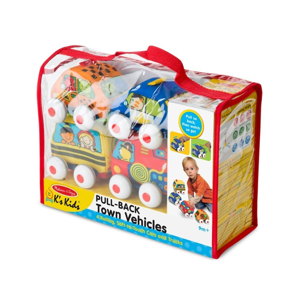Melissa & Doug Pull- Back Vehicles Baby And Toddler Toy