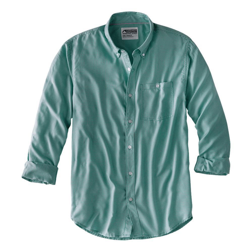 Mountain Khakis Men's Passport EC Long Sleeve Shirt FAIRWAY