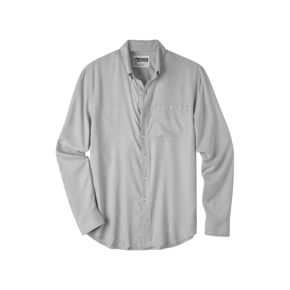 Mountain Khakis Men's Passport EC Long Sleeve Shirt SMOKE