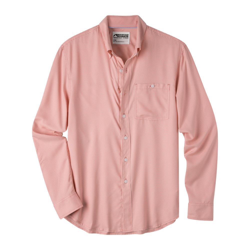 Mountain Khakis Men's Passport EC Long Sleeve Shirt SUMRED
