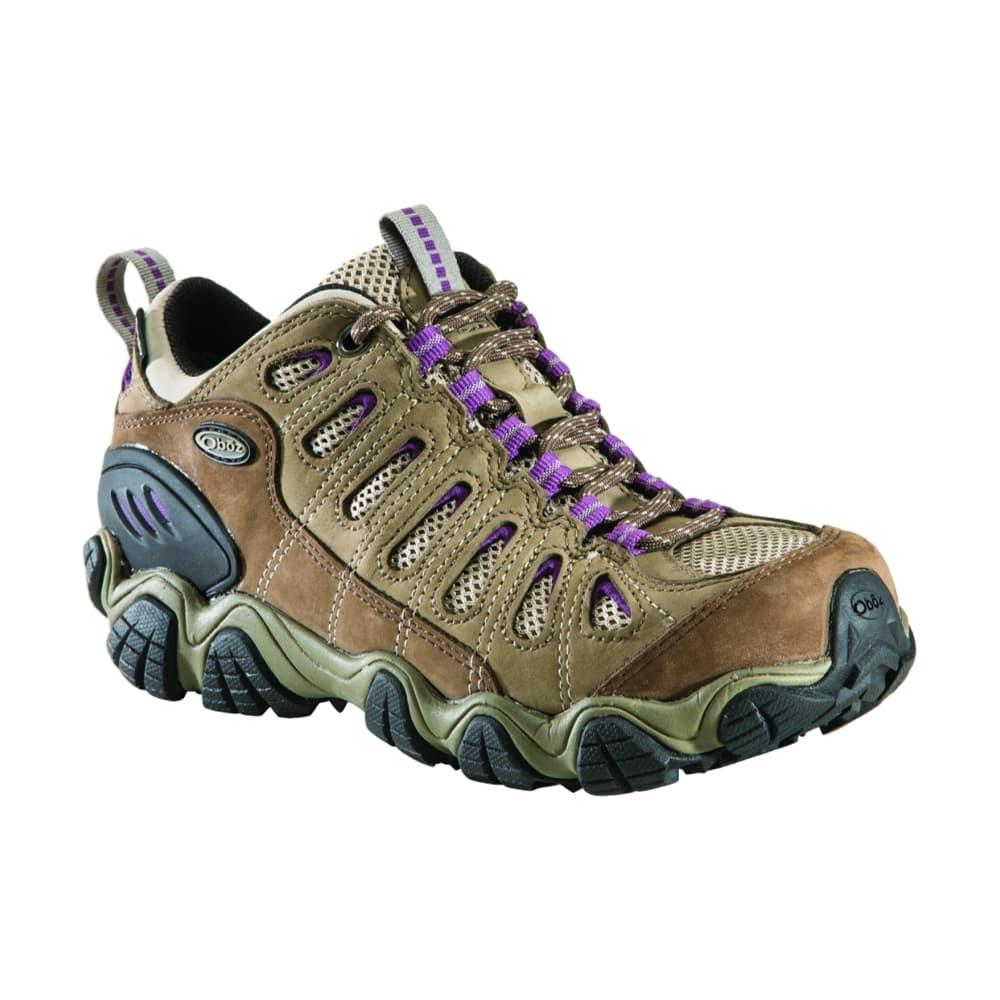 Oboz Women's Sawtooth Low WP Shoes VIOLET