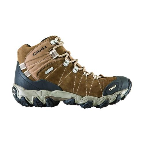 Oboz Women's Bridger Mid WP Boots Walnut