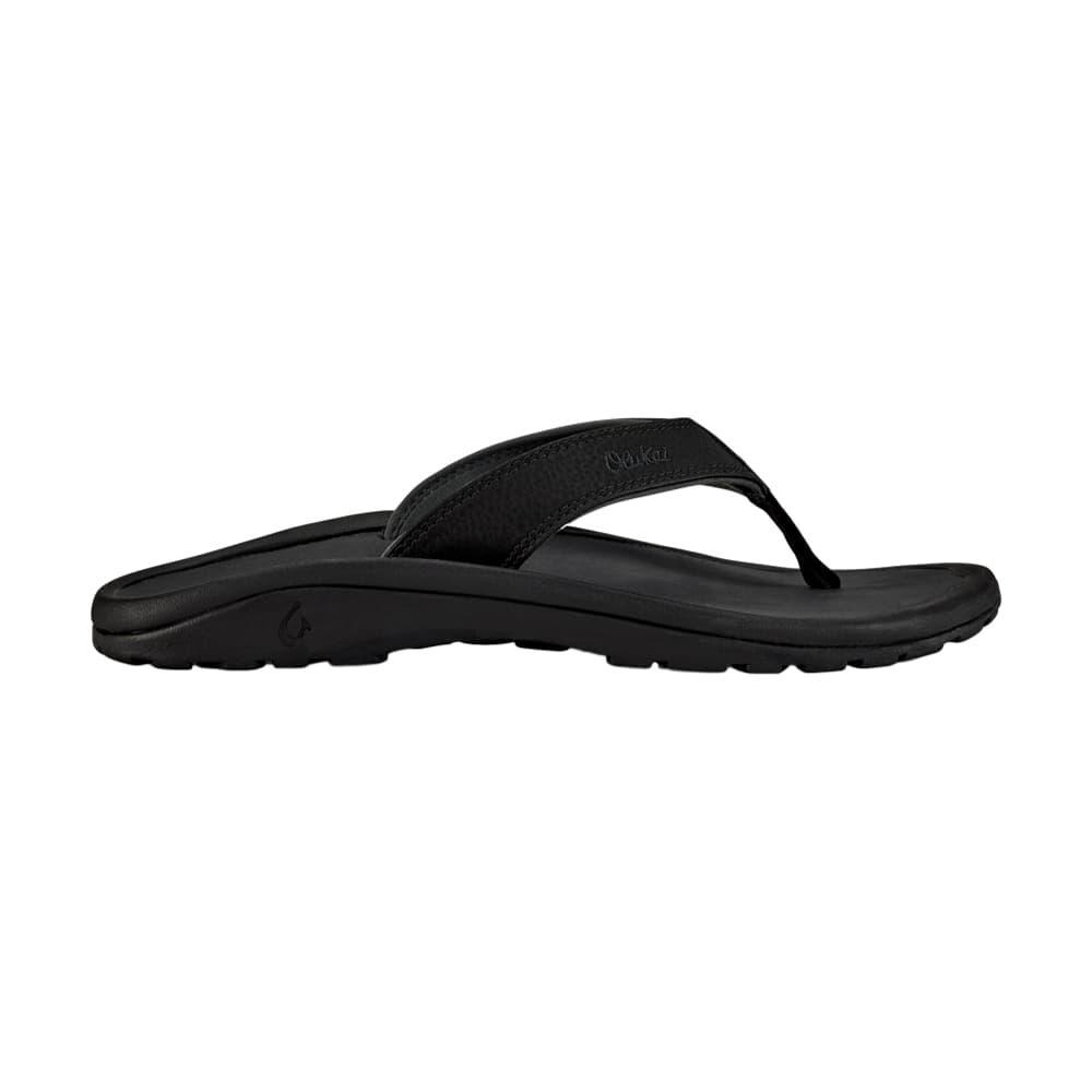 OluKai Men's 'Ohana Sandals BLK/BLK