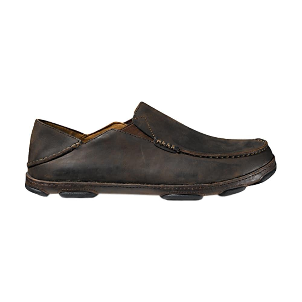 OluKai Men's Moloa Shoes WOOD/JAVA