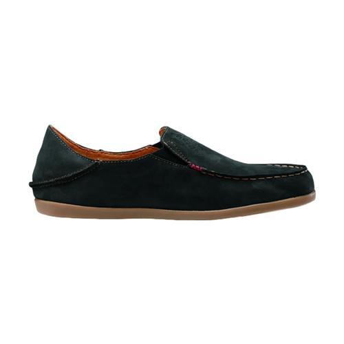 OluKai Women's Nohea Nubuck Shoes Black