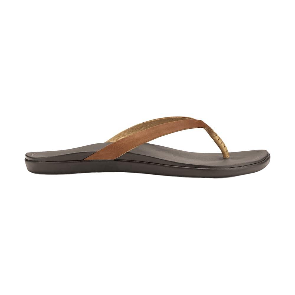 OluKai Women's Ho'opio Leather Sandals SAHARA