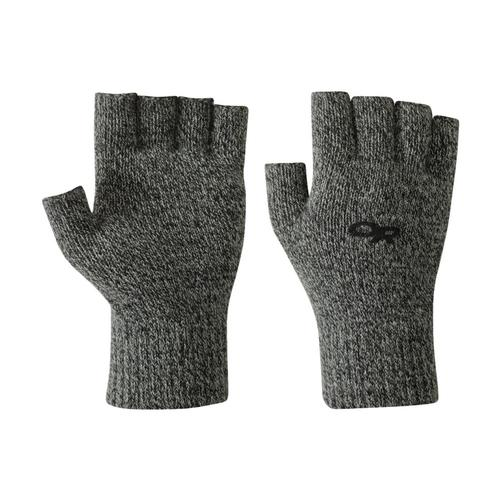Outdoor Research Fairbanks Fingerless Gloves Charcoal_890