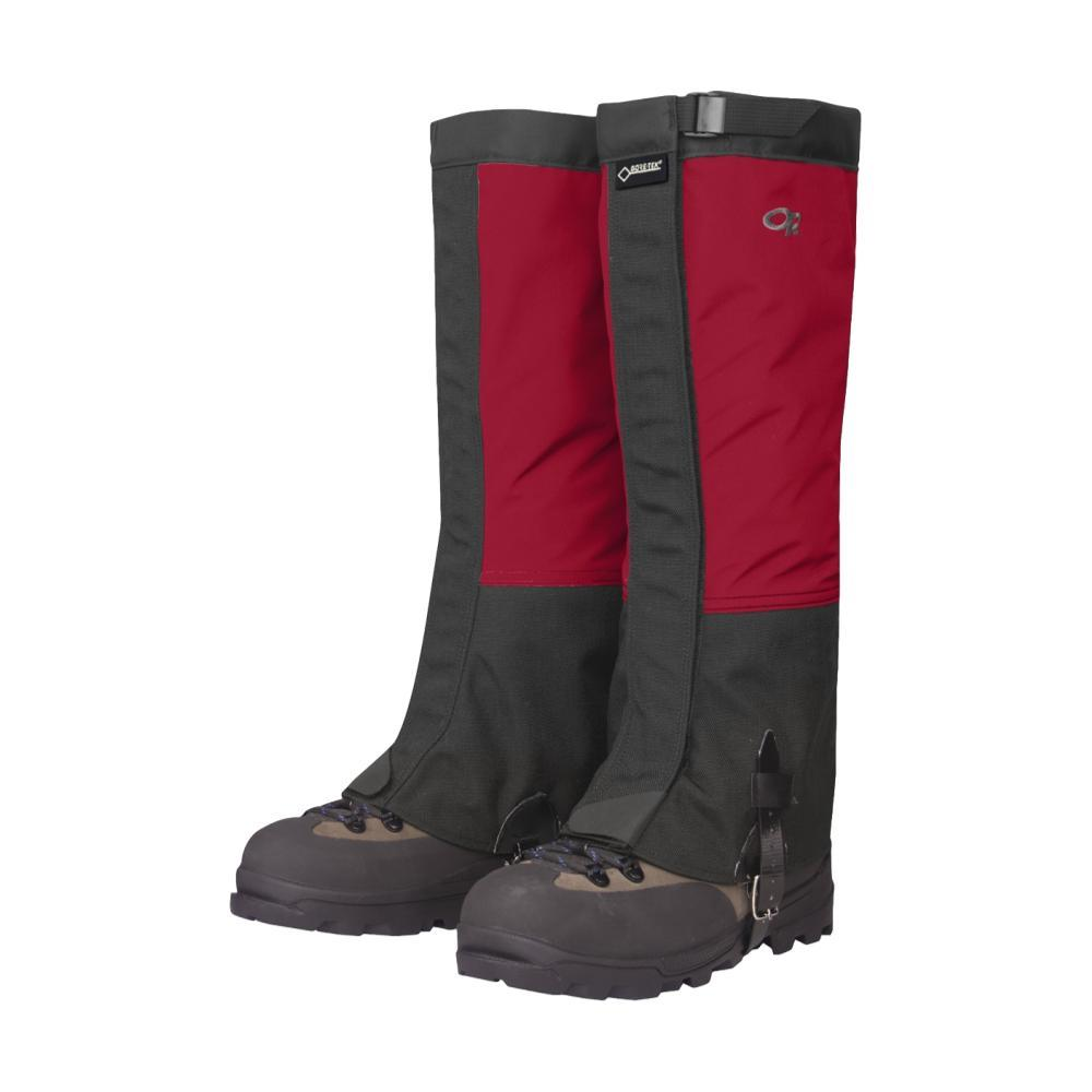 Outdoor Research Crocodile Gaiters CHILI/BLK_413