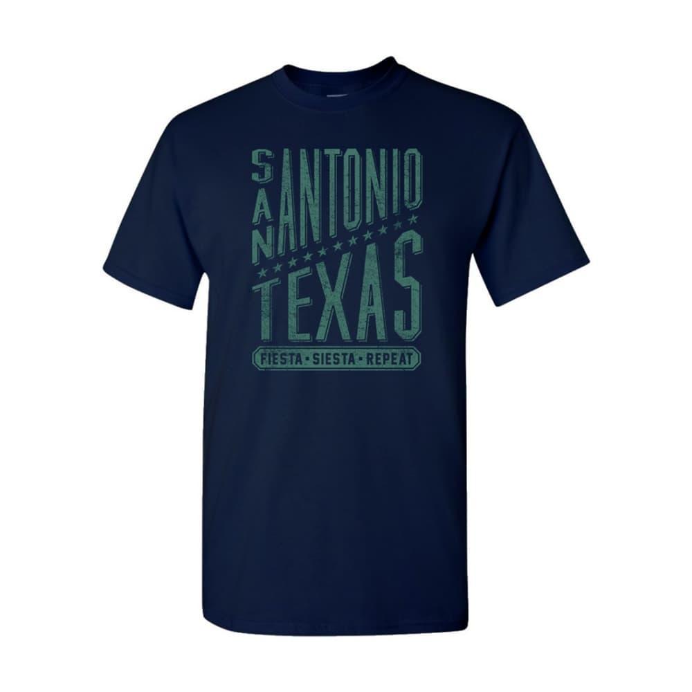 Outhouse Designs Unisex San Antonio Star Sky T-Shirt NAVY