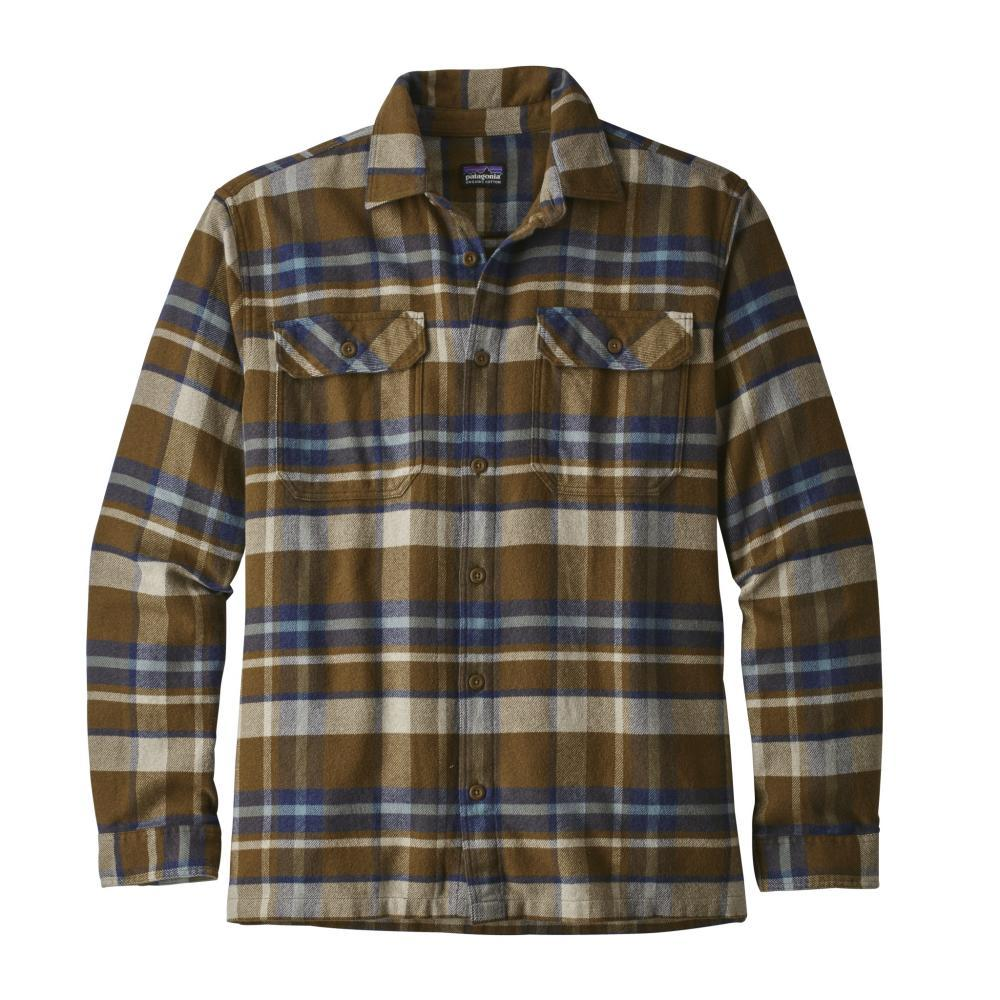 Patagonia Men's Long-Sleeved Fjord Flannel Shirt BASE_SEDI