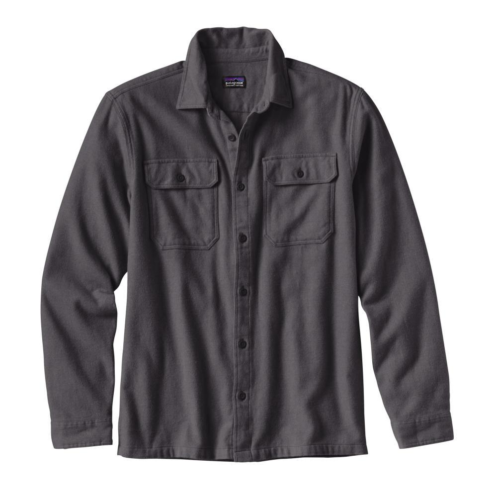 Patagonia Men's Long-Sleeved Fjord Flannel Shirt FGE_GREY