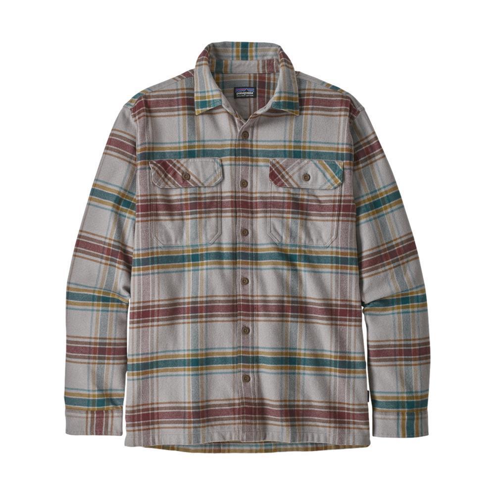 Patagonia Men's Long-Sleeved Fjord Flannel Shirt GREY_DEFG