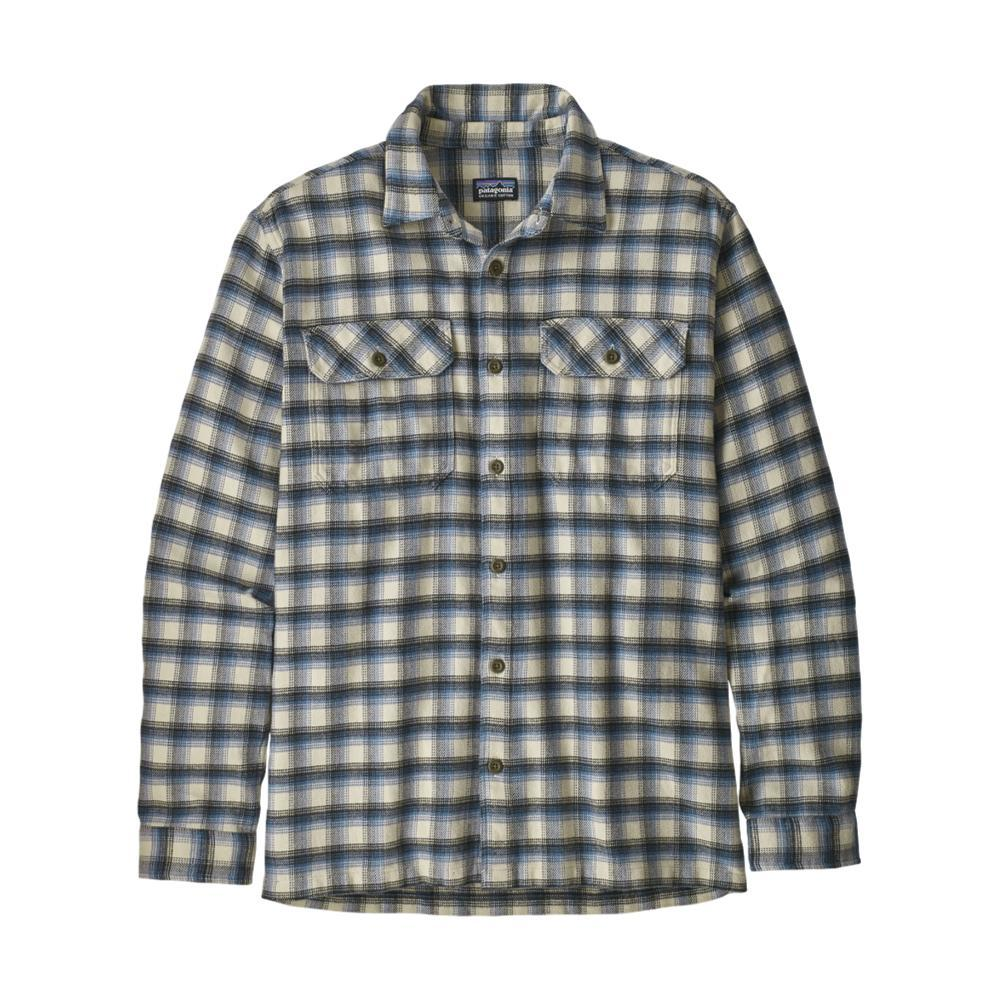 Patagonia Men's Long-Sleeved Fjord Flannel Shirt OYSTER_CEOW