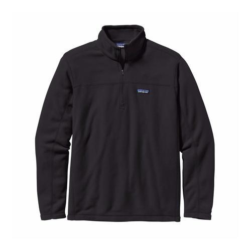 Patagonia Men's Micro D Fleece Pullover Blk_blk