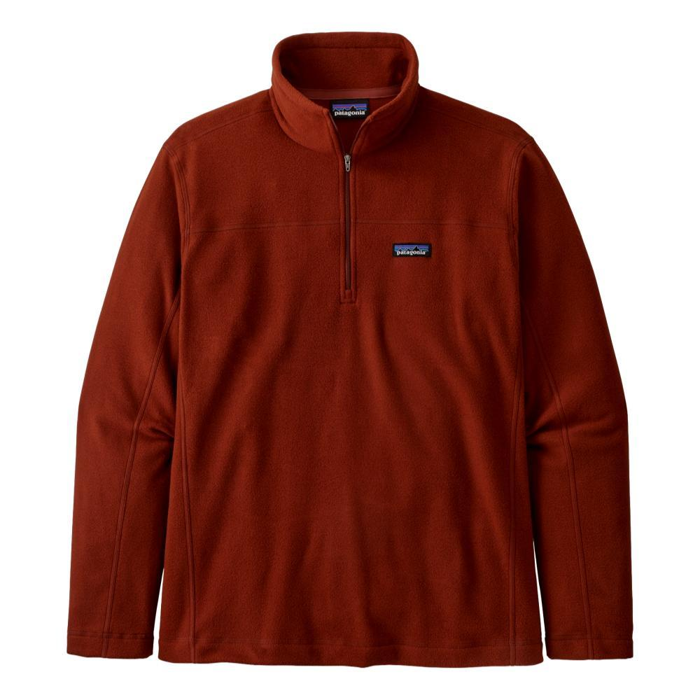 Patagonia Men's Micro D Fleece Pullover RED_BARR