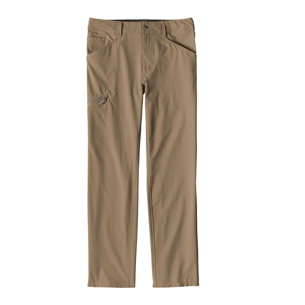 Patagonia Men's Quandary Pants - 34in Inseam ASHT_TAN