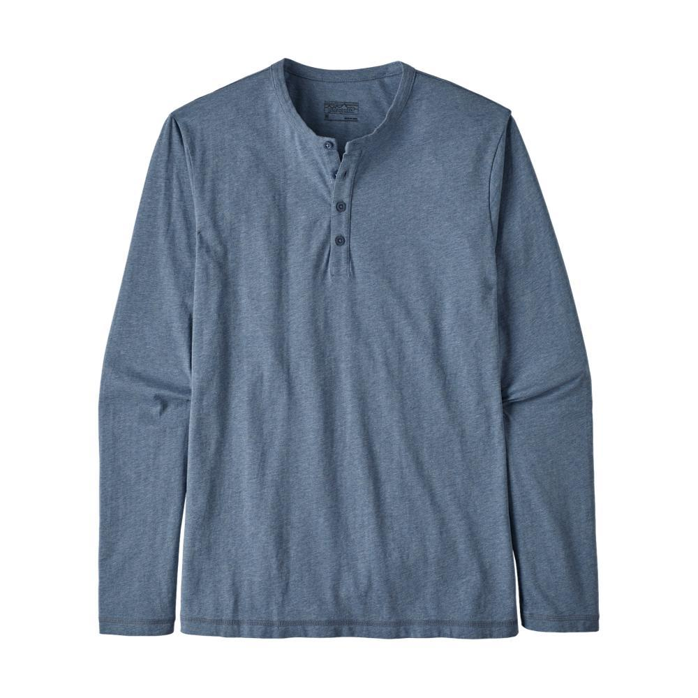 Patagonia Men's Long-Sleeved Daily Henley BLUE_WOBL
