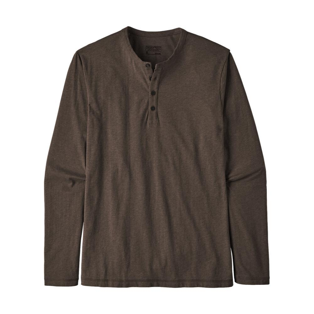 Patagonia Men's Long-Sleeved Daily Henley BRWN_LDBR
